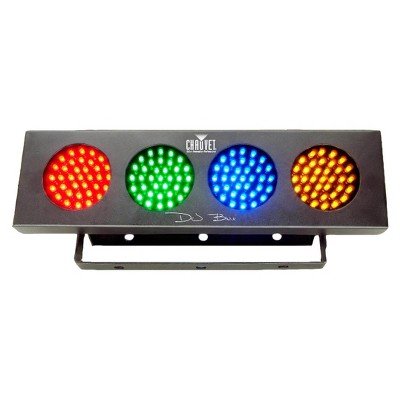 Chauvet DJ Bank RGBA 1LED Sound Active Lightweight Light Strip Party Wash Effect
