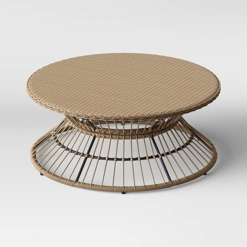 Martii Rattan Patio Coffee Table - Natural - Project 62™ - image 1 of 2