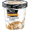 So Delicious Dairy Free Cashew - Salted Caramel Cluster Frozen Dessert - 16oz - image 3 of 3