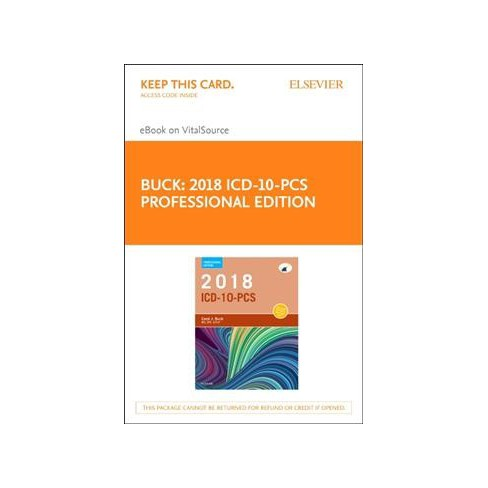 Icd 10 Pcs 2018 Professional Edition Elsevier Ebook On Vitalsource