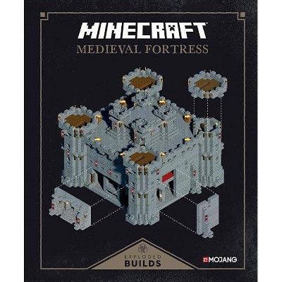 Minecraft Exploded Builds - by Mojang Ab (Hardcover)