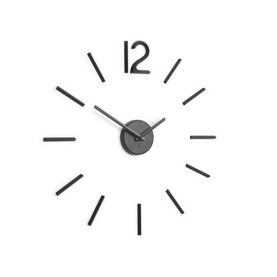 Blink Wall Clock Black - Umbra