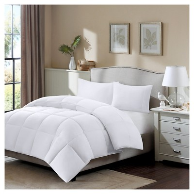 Longford All season Stain Release 3M Scotchgard Cotton Twill Down Blend Comforter (King/Cal King)White