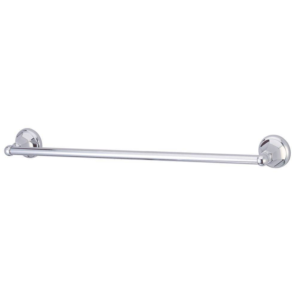 "Image of ""24"""" Towel Bar Chrome - Kingston Brass"""