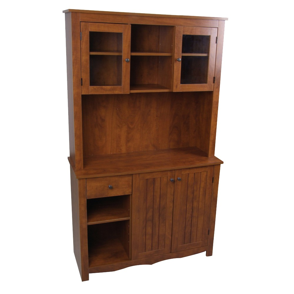 Image of China Cabinet Oak - Home Source