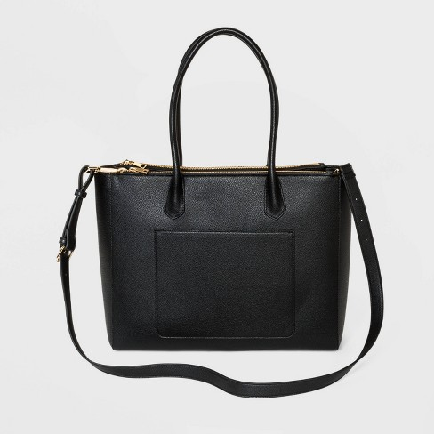 Triple Compartment Work Tote Handbag - A New Day™ - image 1 of 3
