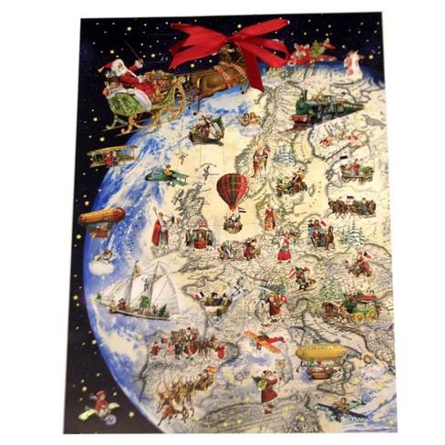 "Christmas 20.5"" Giving Gifts On Christmas Eve Advent Calendar  -  Advent Calendar - image 1 of 3"