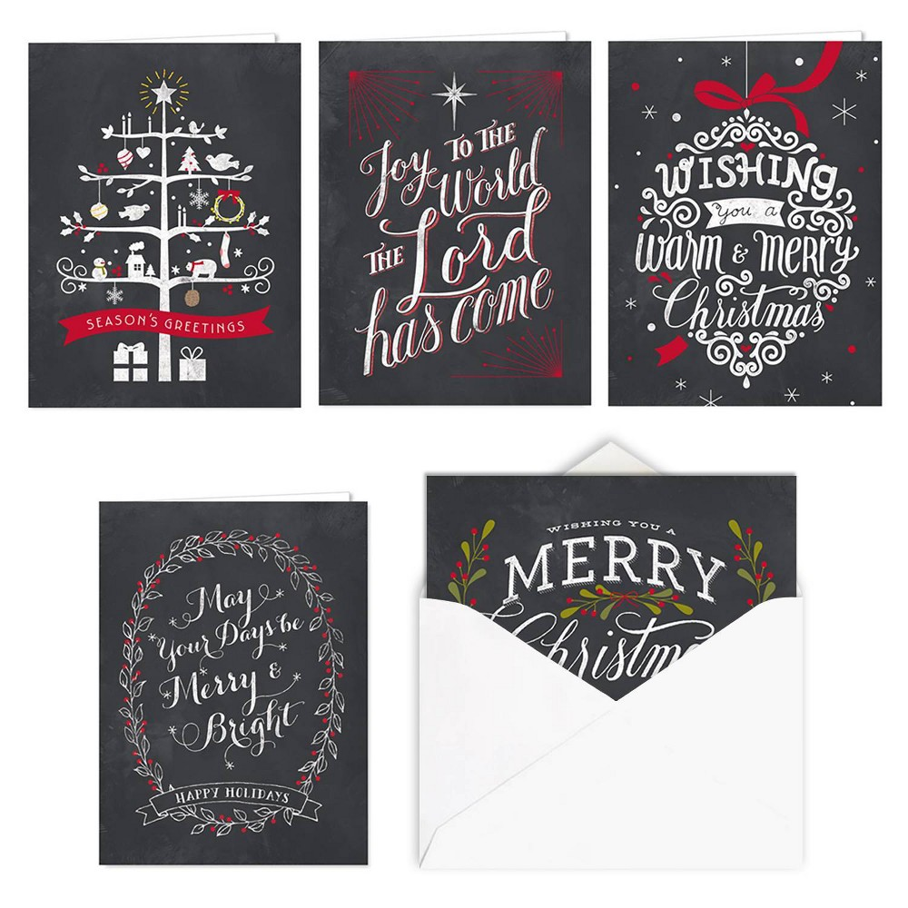 Image of 25ct Celebrate the Season Greeting Cards - Masterpiece Studio