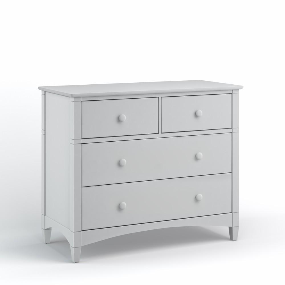 Essex 4 Drawer Dresser Dove Gray - Bolton Furniture