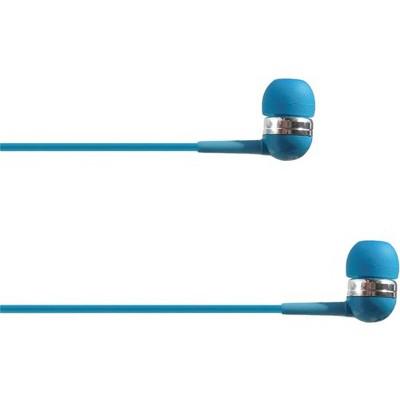 4XEM Ear Bud Headphone Blue - Stereo - Mini-phone - Wired - 16 Ohm - 20 Hz - 18 kHz - Earbud - Binaural - In-ear - 3.75 ft Cable - Blue