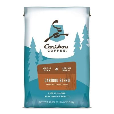 Caribou Coffee Caribou Blend Medium Roast Whole Bean - 20oz