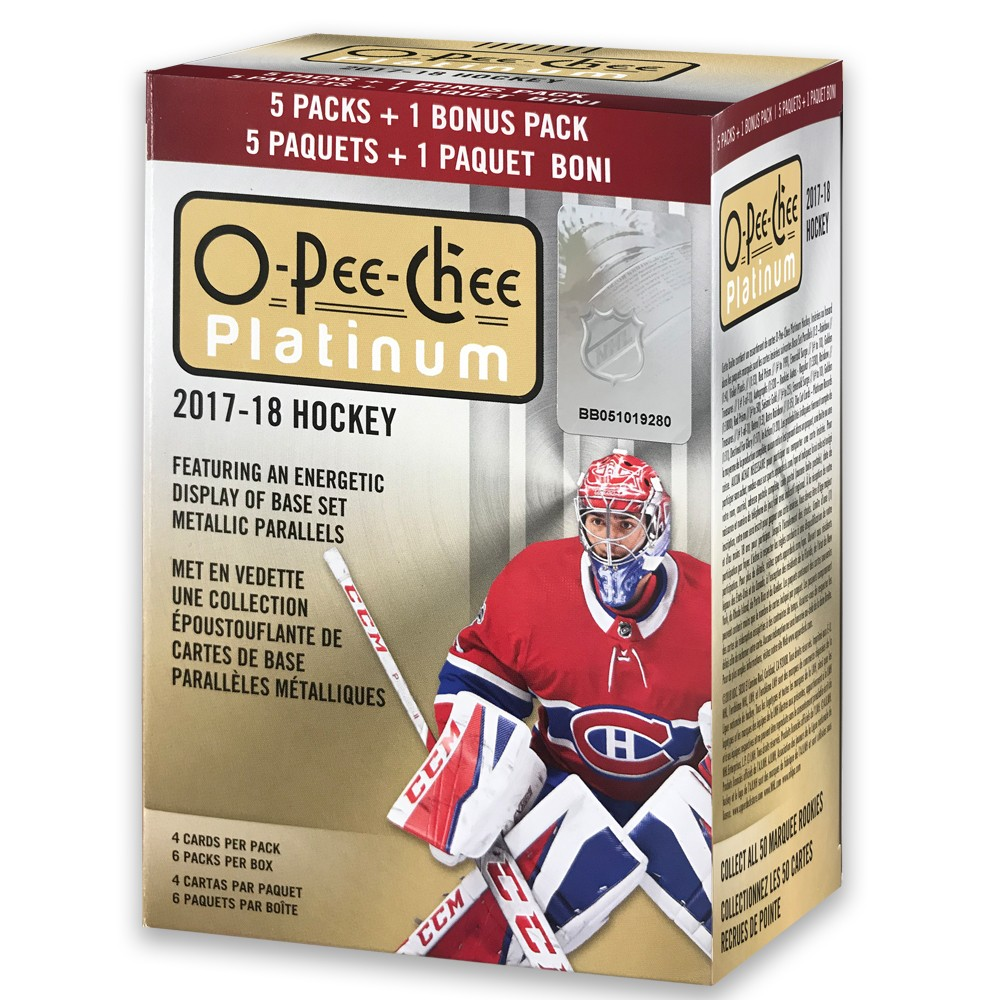 NHL O-Pee-Chee Hockey Trading Card Full Box