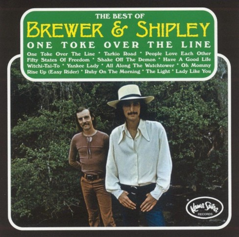 Brewer & shipley - One toke over the line:Best of brewer (CD) - image 1 of 1