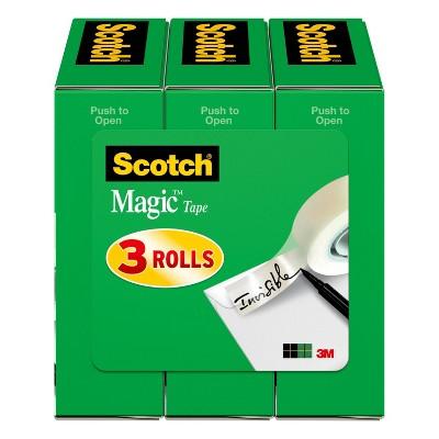 Scotch 3pk Magic Boxed Tape