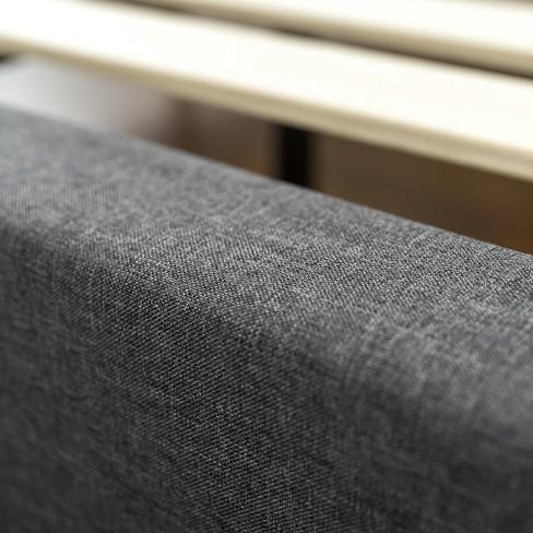 c11e0e6b586c6 Dupont Tufted Upholstered Platform Bed - Queen - Dark Gray - Sleep  Revolution. Shop all Zinus. + 3 more