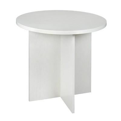"30"" Lenox Round Table Off White - Niche"