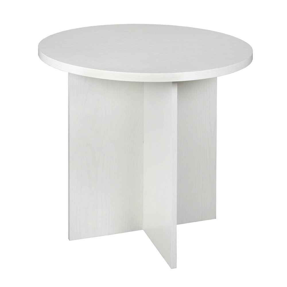 "Image of ""30"""" Lenox Round Table Off White - Niche"""