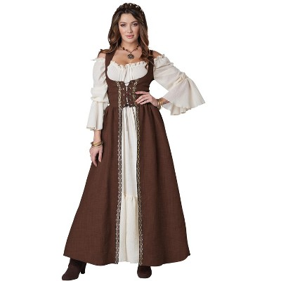 California Costumes Medieval Overdress Adult Costume (Brown)