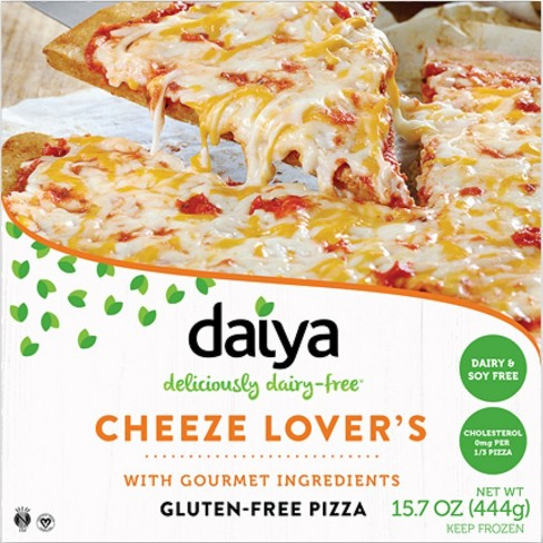 Daiya Dairy-Free Cheese Lover's Frozen Pizza - 15.7oz - image 1 of 3