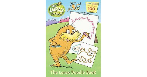 The Lorax Doodle Book - image 1 of 1