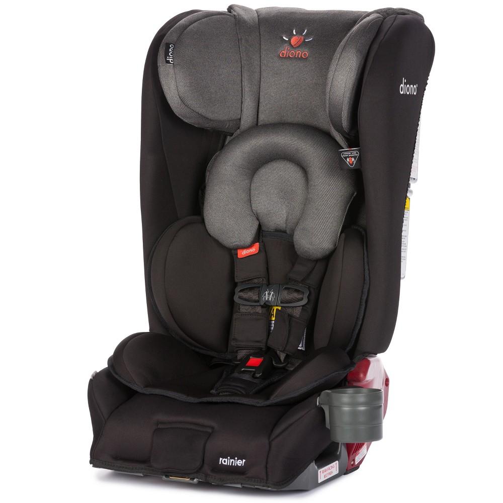 Diono Rainier All-In-One Convertible Car Seat - Black Mist, Gray