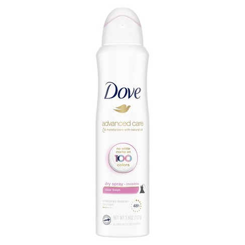 Dove Clear Finish 48-Hour Invisible Antiperspirant & Deodorant Dry Spray - 3.8oz - image 1 of 4