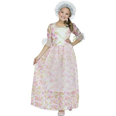 Funworld Colonial Cap & Apron Child Costume Kit, One Size
