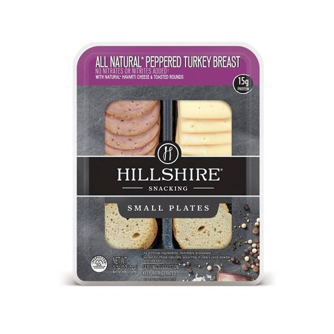 Hillshire Snacking All Natural Peppered Turkey Breast - 2.76oz - image 1 of 1