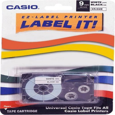 "Casio White Tape - 0.35"" - 1 x Tape"
