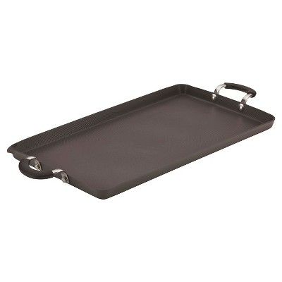 Circulon Innovatum Hard Anodized Nonstick Double Burner Griddle