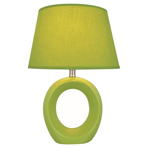 Lite Source Viko 1 Light Table Lamp - Green - image 1 of 1