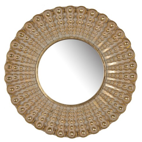 "Aubrey Round Mirror (19"") - A&B Home - image 1 of 1"