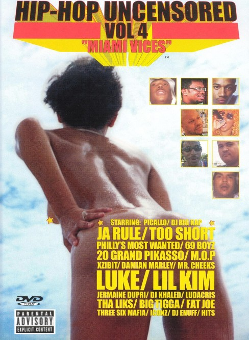 Hip hop uncensored:V4 miami vices (DVD) - image 1 of 1