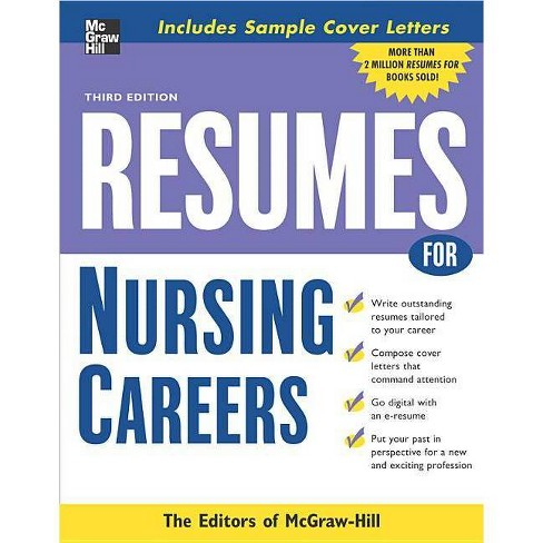 Resumes for Nursing Careers - (McGraw-Hill Professional Resumes) 3 Edition (Paperback) - image 1 of 1