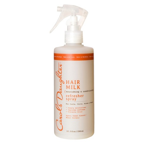 Carol's Daughter Hair Milk Nourishing And Conditioning Refresher Spray - 10.0 Fl Oz : Target