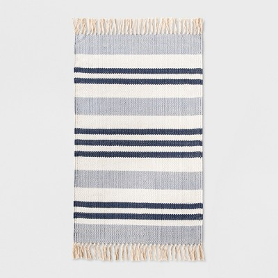 Stripe Kitchen Rug 1'8 X2'10  Blue - Threshold™