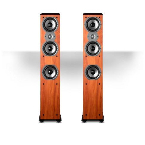 "Polk Audio TSi400 4-Way Tower Speakers with Three 5-1/4"" Drivers - Pair (Cherry) - image 1 of 2"