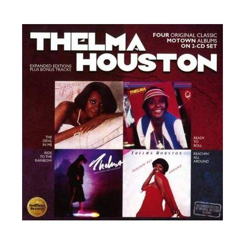 Thelma Houston - Devil In Me/Ready To Roll/Ride To the Rainbow/Reachin' For All (CD) - image 1 of 1