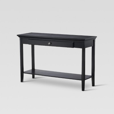 Avington Console Table Black   Threshold™