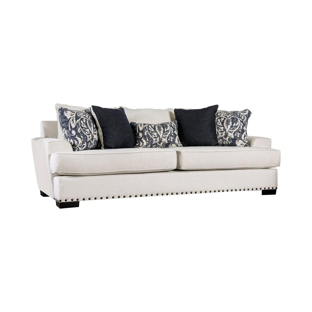 Paxton T Cushion Sofa Ivory - miBasics