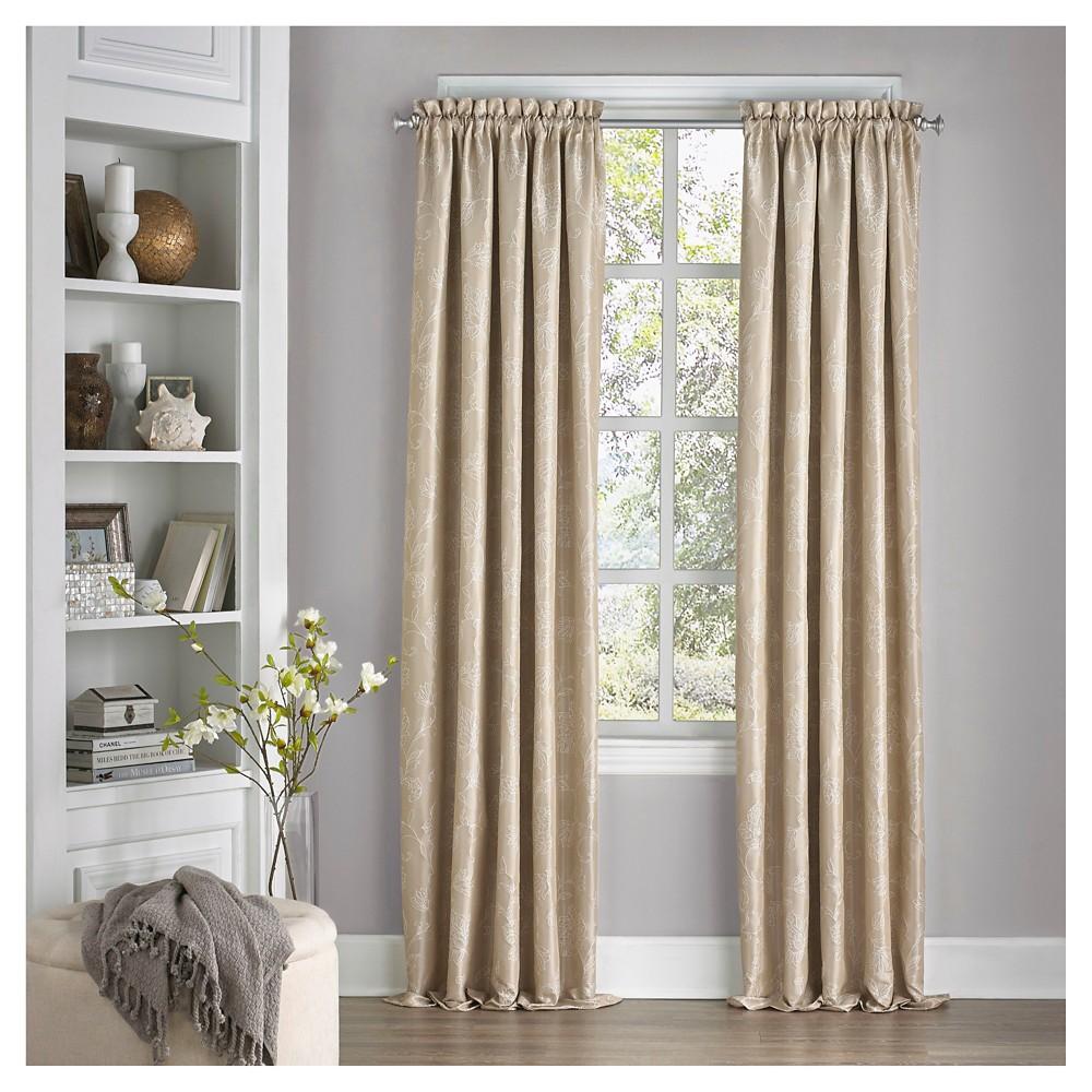 Mallory Thermalayer Blackout Curtain Tan (52