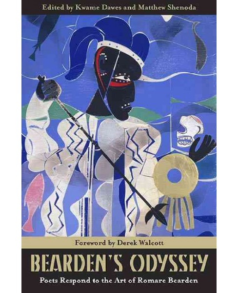 Bearden's Odyssey : Poets Respond to the Art of Romare Bearden (Paperback) - image 1 of 1