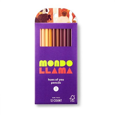 12ct Hues of You Colored Pencils - Mondo Llama™