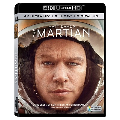The Martian (4K/UHD + Blu-ray + DVD)