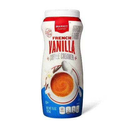 French Vanilla Dairy Creamer Artificially Flavored - 15oz - Market Pantry™