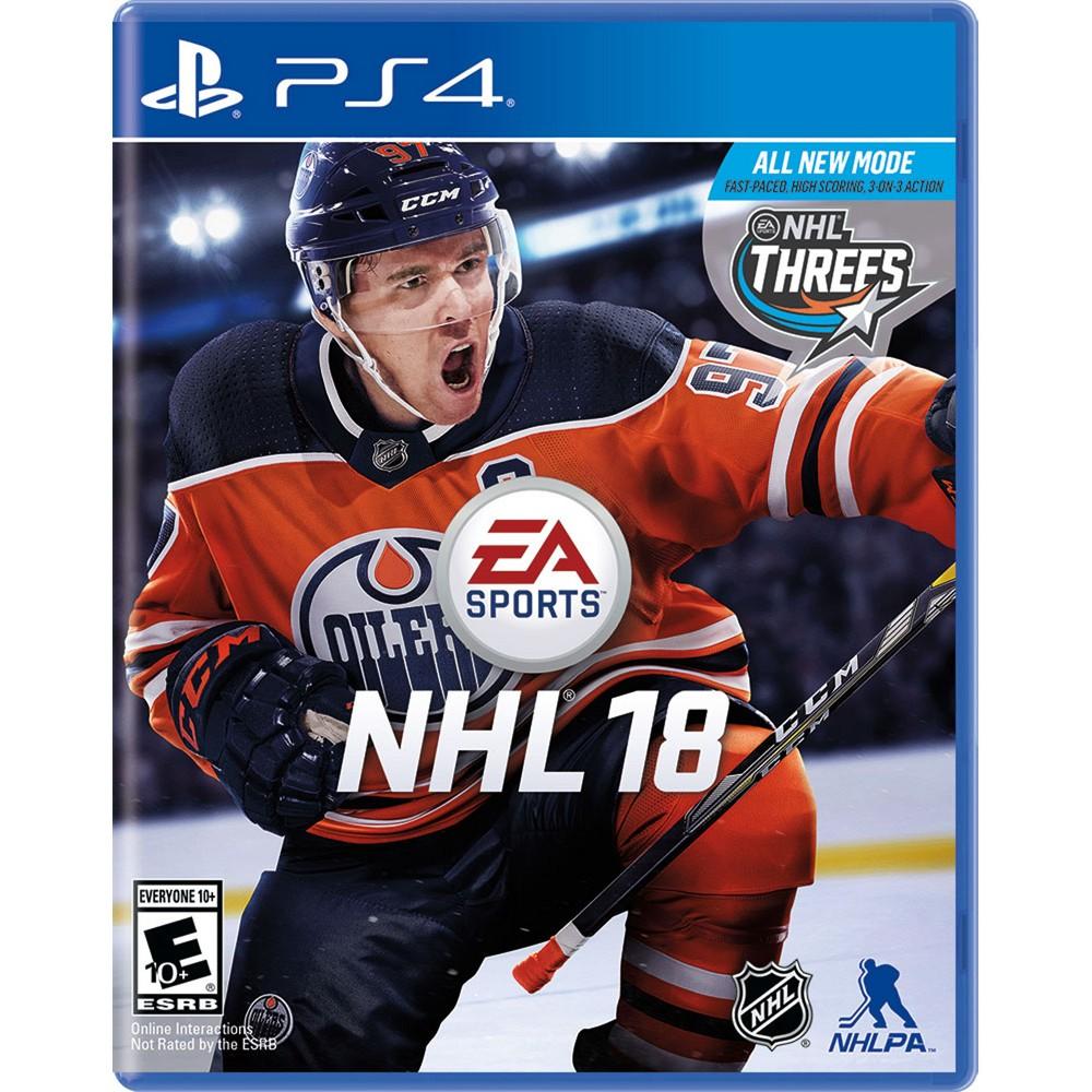 NHL 18 - PlayStation 4, Video Games