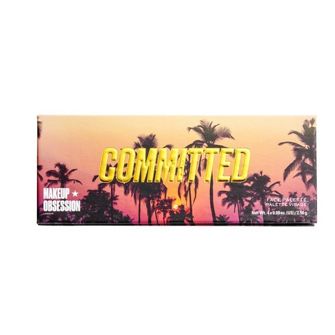 Makeup Obsession Committed Face Highlight Palette - 0.36oz - image 1 of 3