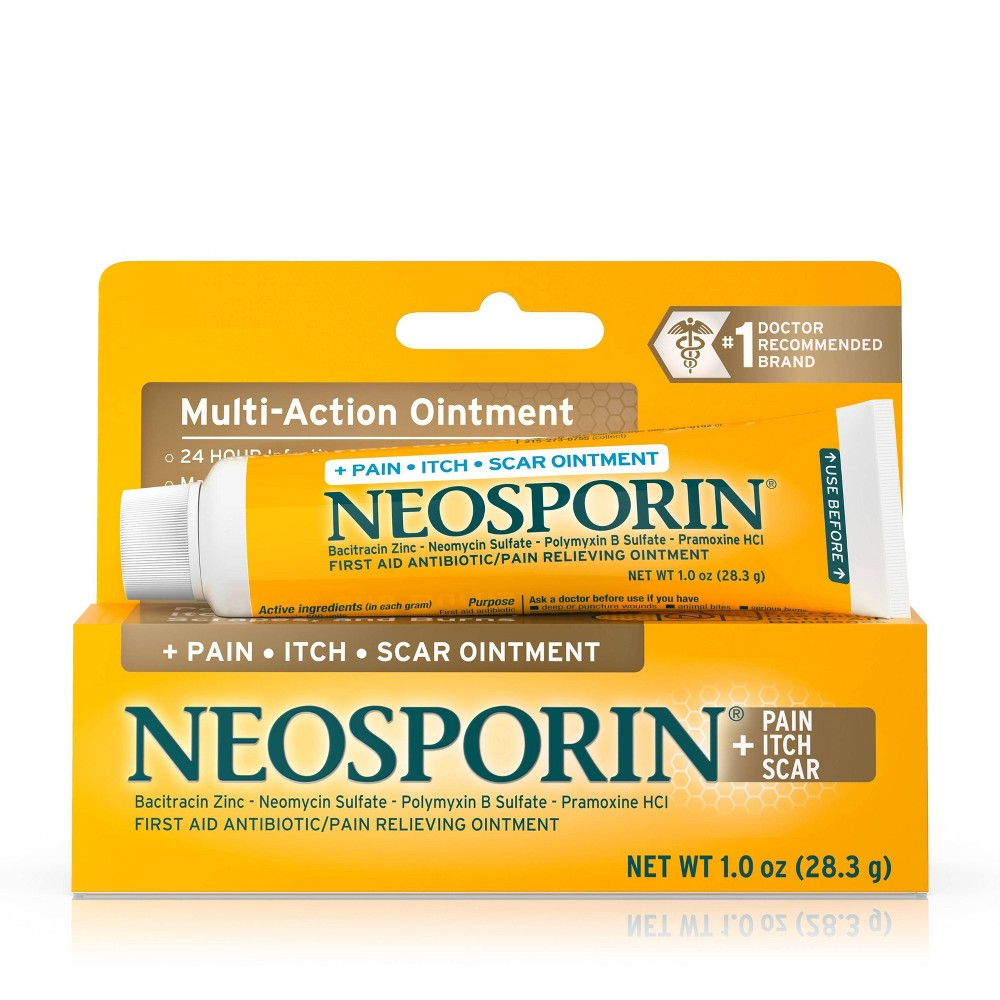 Neosporin First Aid Antibiotic/Pain Relieving Ointment - 1 oz