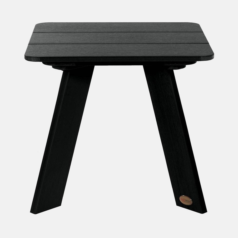 Image of Barcelona Modern Patio Side Table Black - highwood