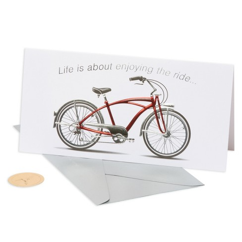 Papyrus Red Bicycle Birthday Card - image 1 of 4